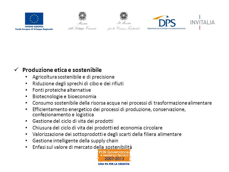 Produzione etica e sostenibile
