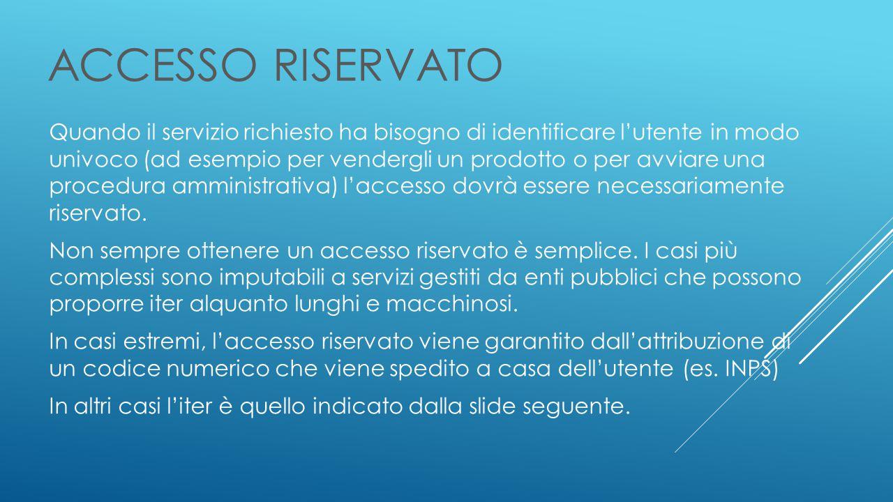 ACCESSO RISERVATO