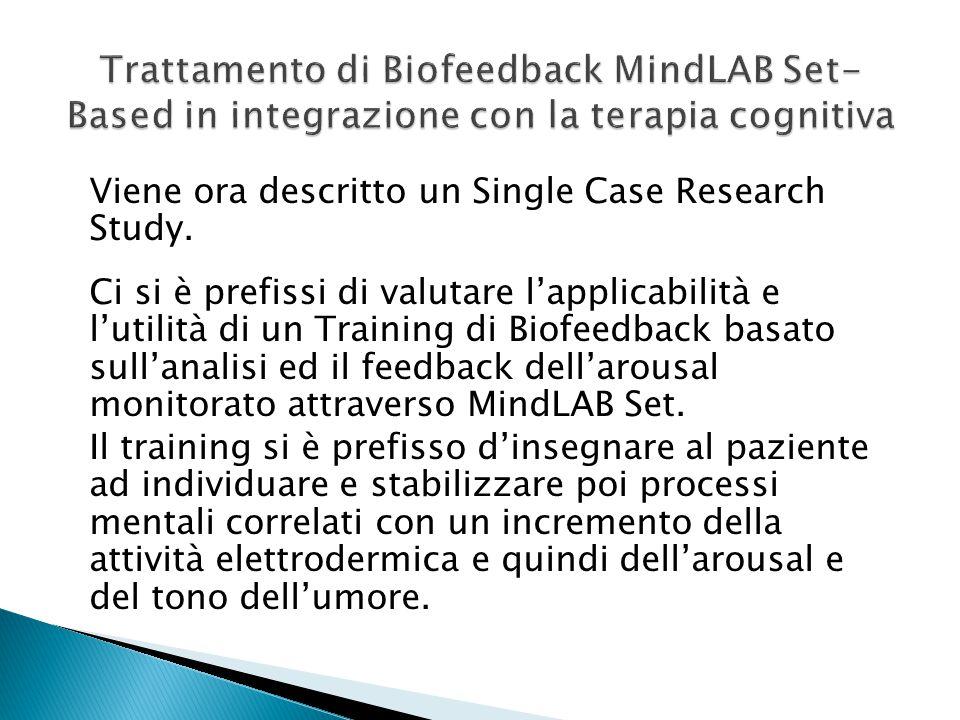 Trattamento di Biofeedback MindLAB Set- Based in integrazione con la terapia cognitiva