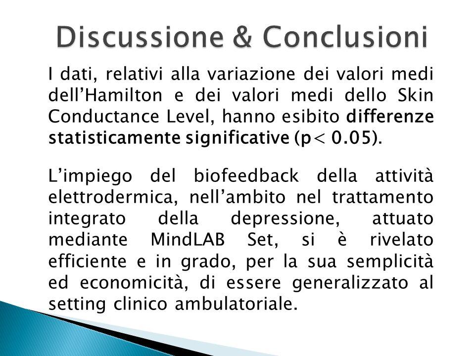 Discussione & Conclusioni