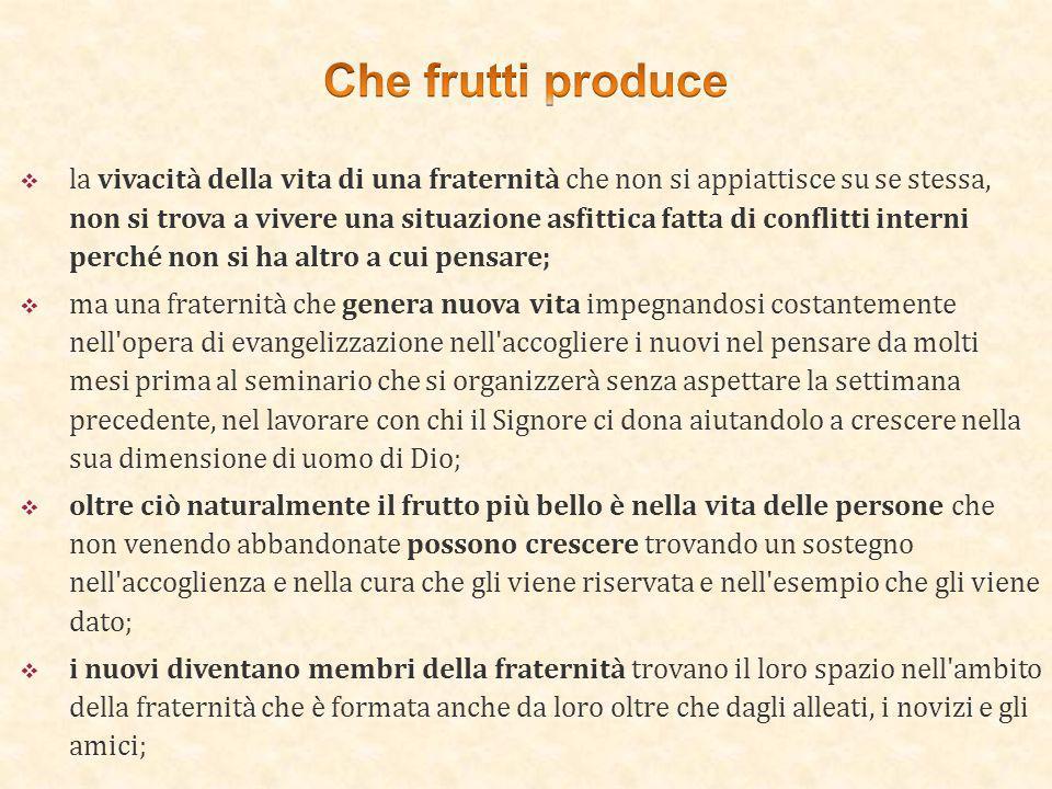 Che frutti produce
