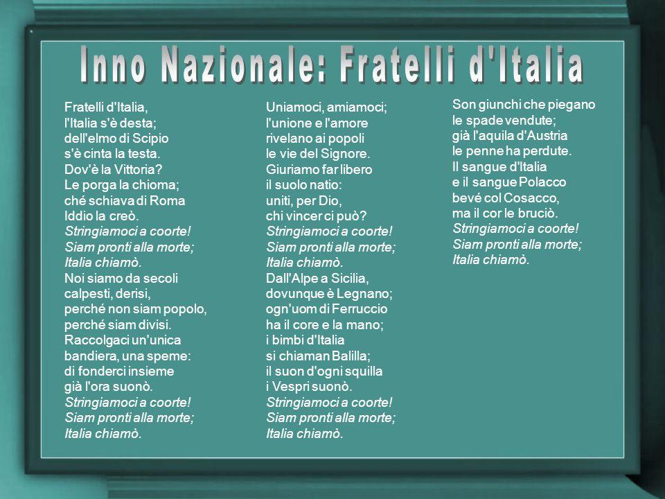Inno Nazionale: Fratelli d Italia