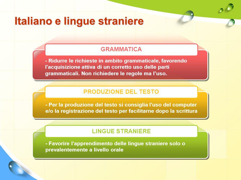 Italiano e lingue straniere