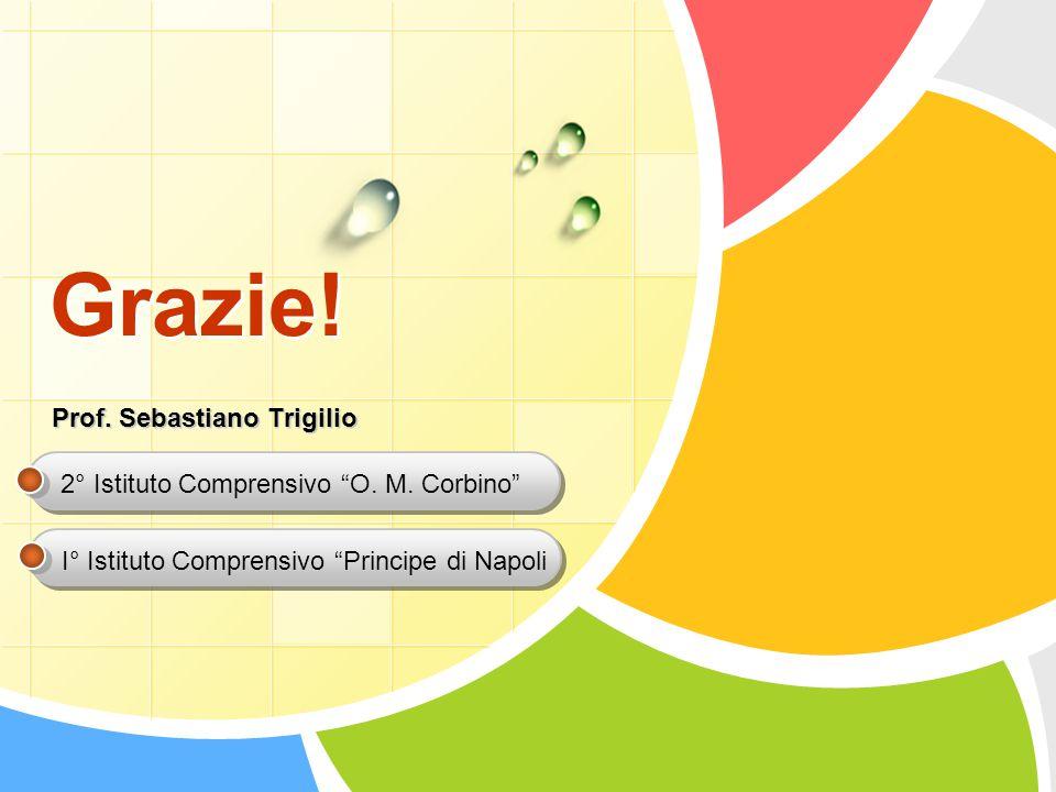 Grazie! Prof. Sebastiano Trigilio