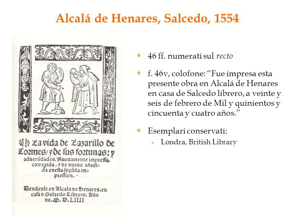 Alcalá de Henares, Salcedo, 1554