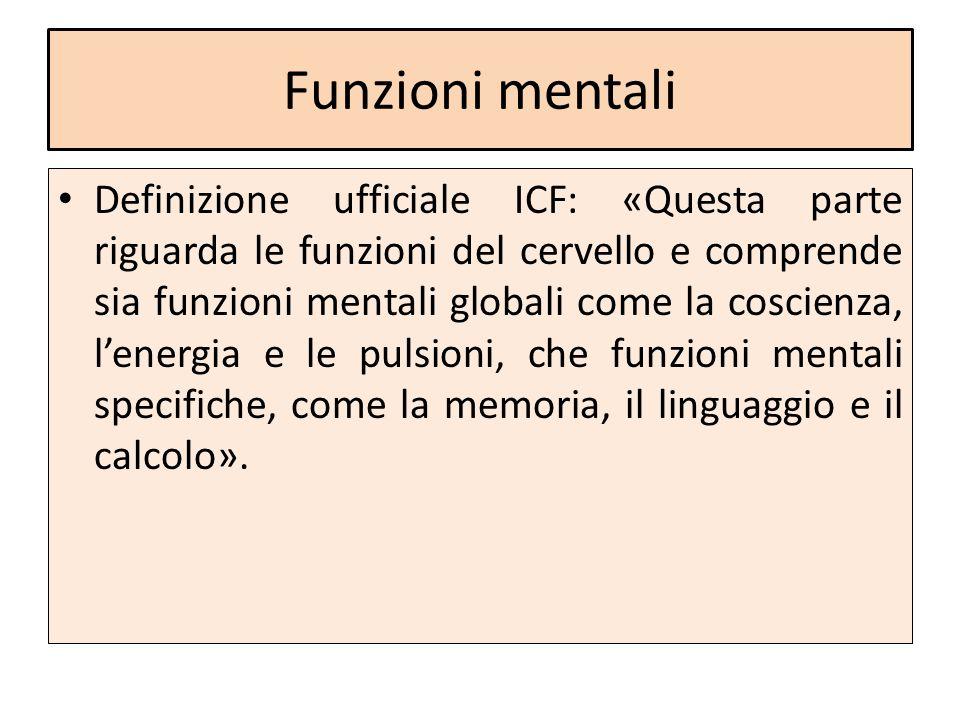 Funzioni mentali