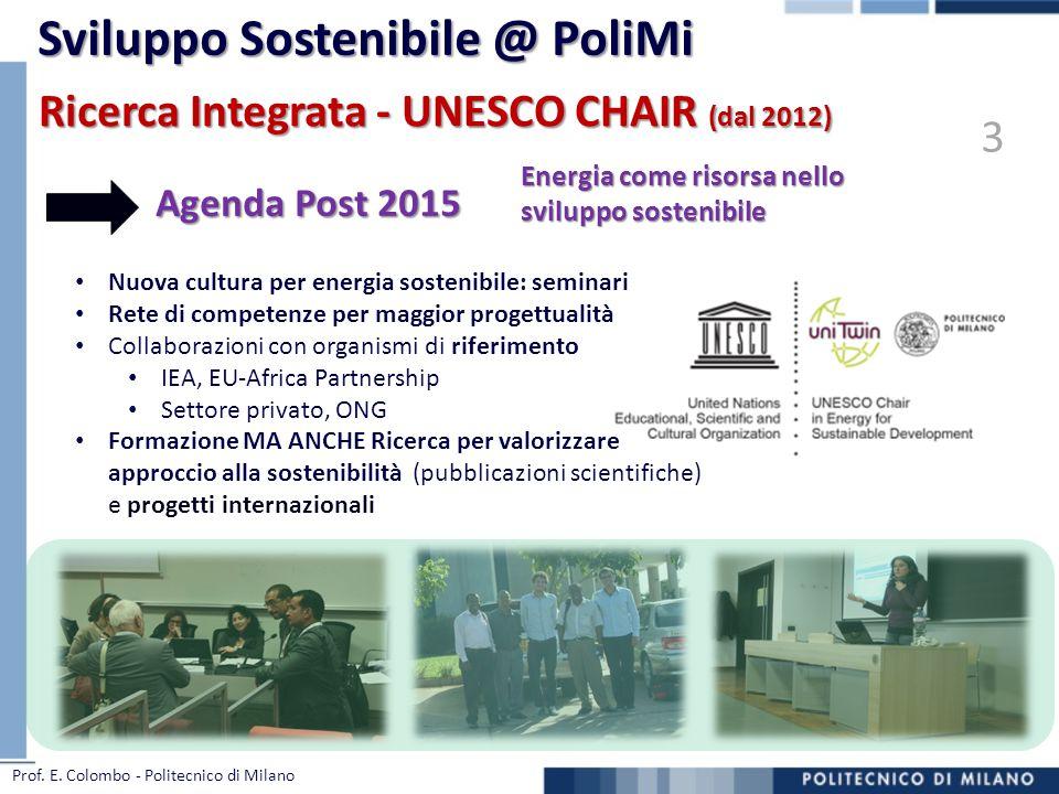 Sviluppo Sostenibile @ PoliMi