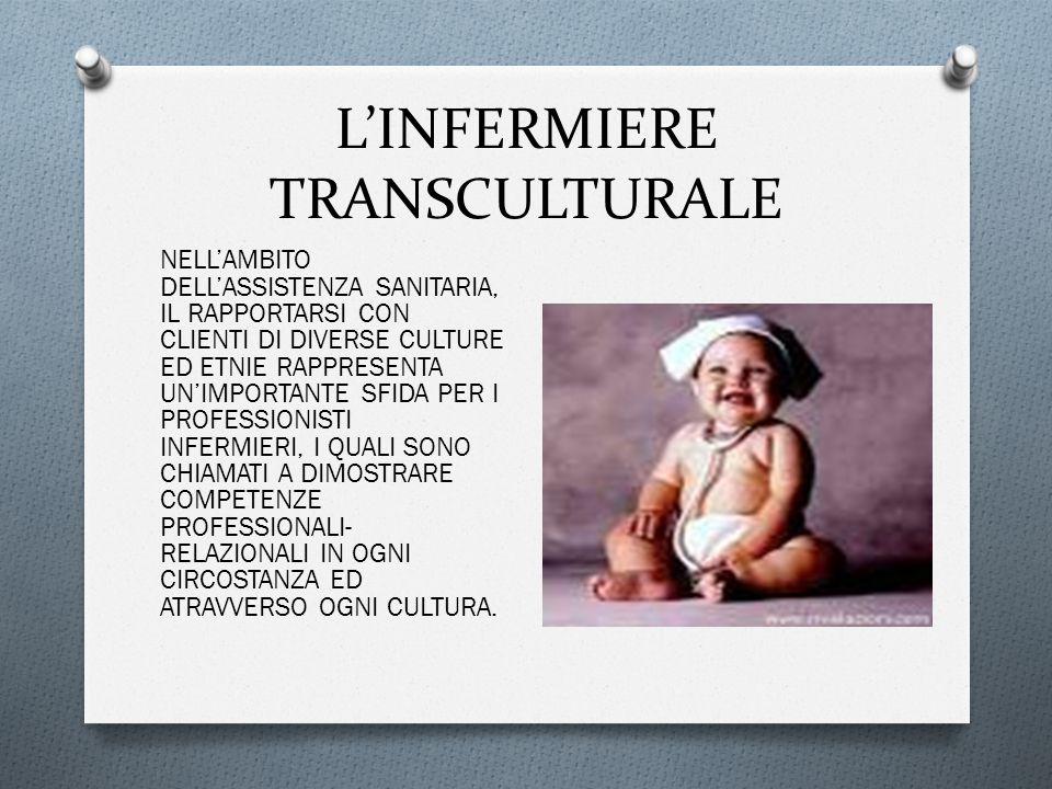 L'INFERMIERE TRANSCULTURALE