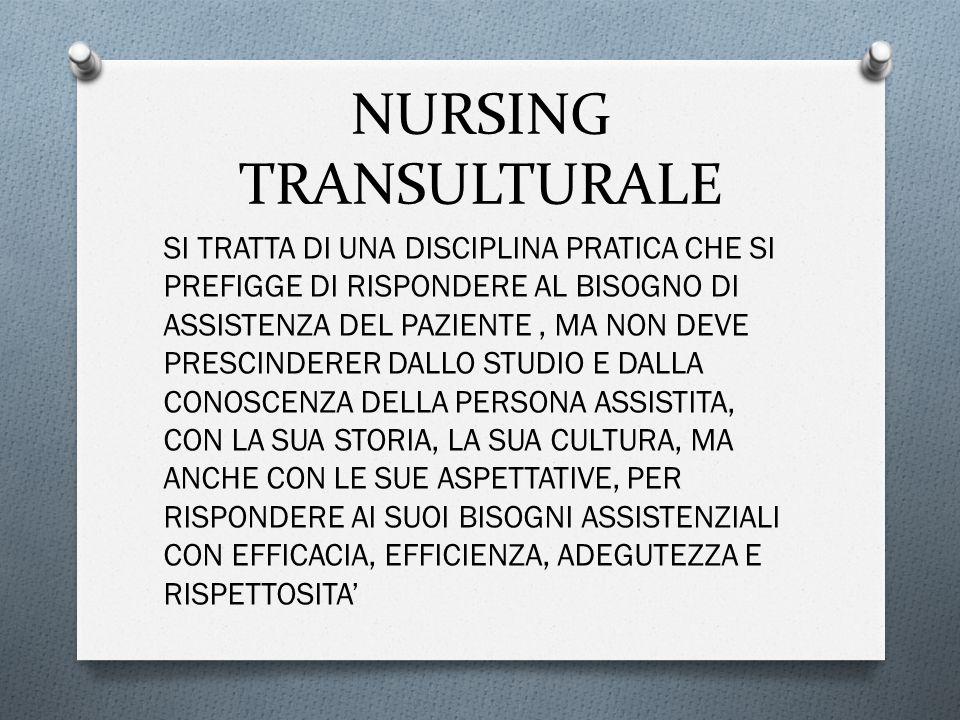 NURSING TRANSULTURALE