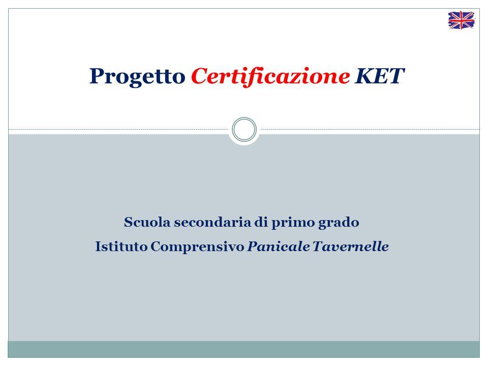 Progetto Certificazione KET