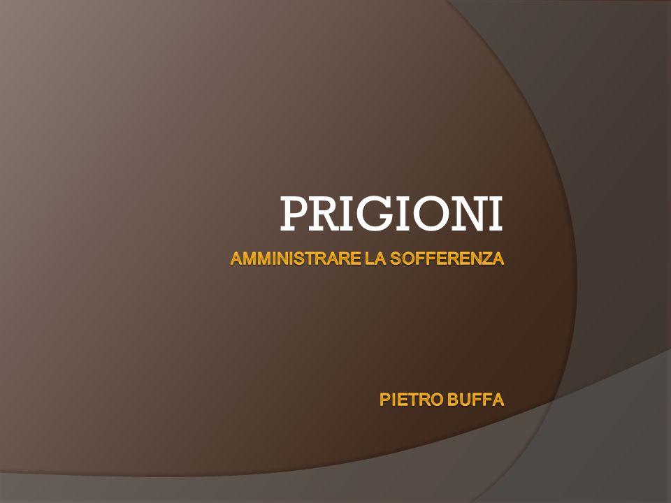 Amministrare la sofferenza Pietro Buffa