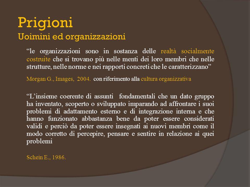 Prigioni Uoimini ed organizzazioni