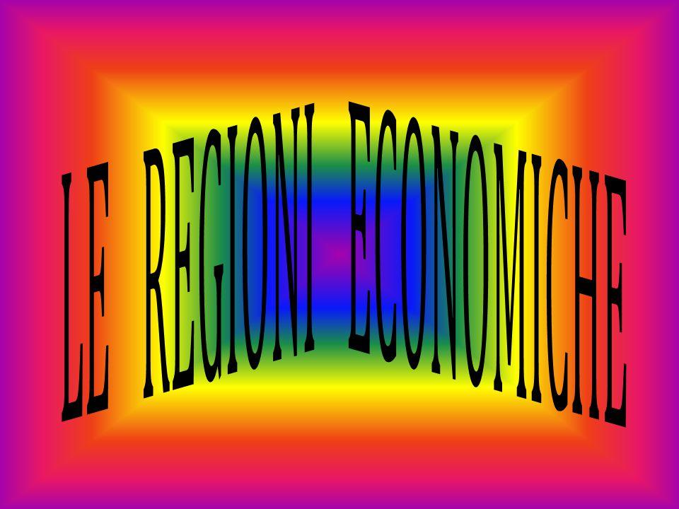 LE REGIONI ECONOMICHE