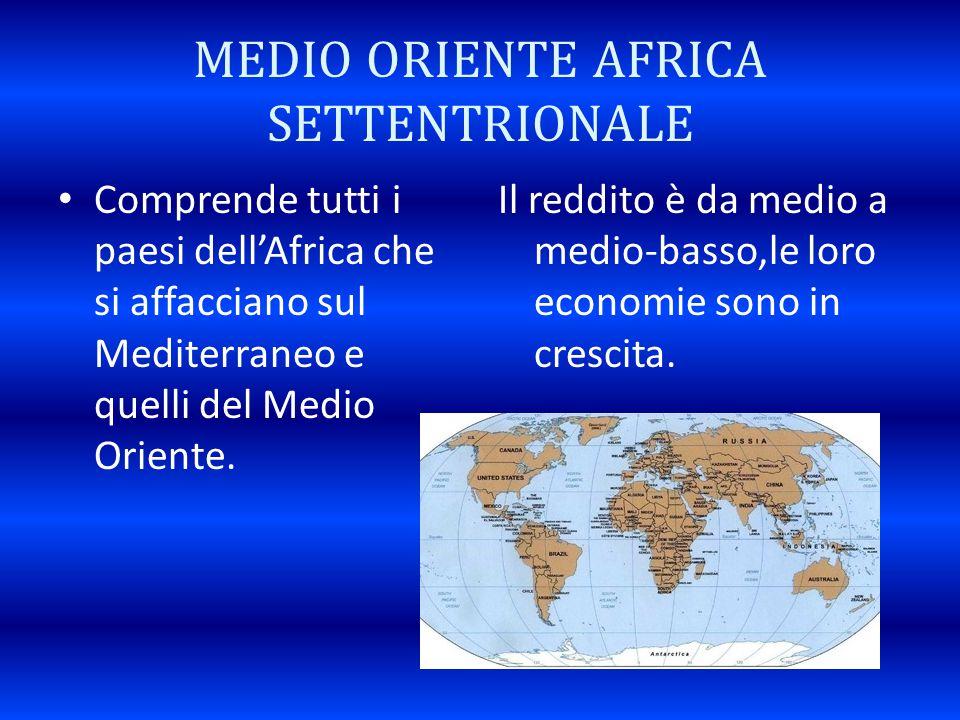 MEDIO ORIENTE AFRICA SETTENTRIONALE