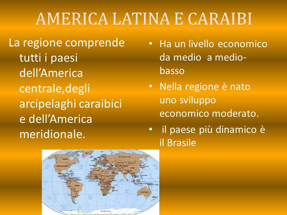 AMERICA LATINA E CARAIBI