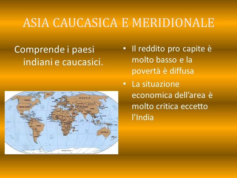 ASIA CAUCASICA E MERIDIONALE