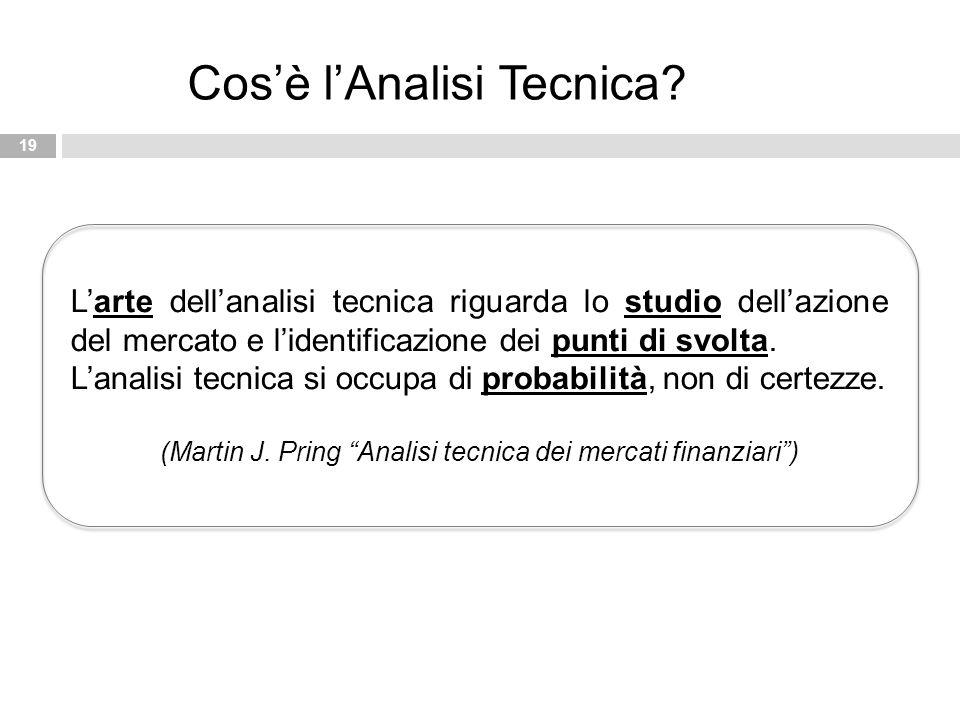 (Martin J. Pring Analisi tecnica dei mercati finanziari )