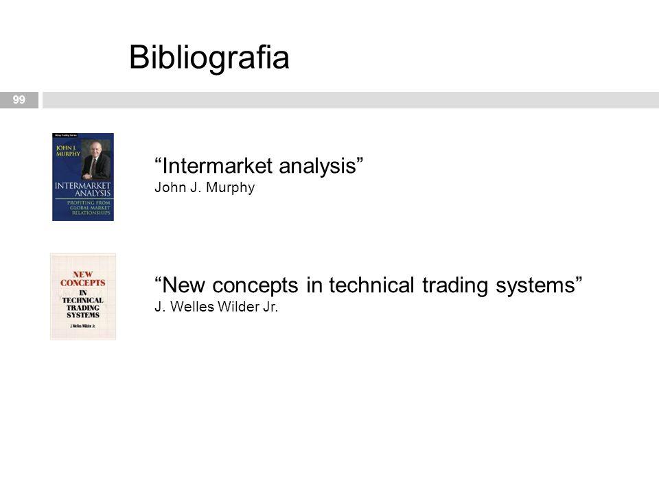 Bibliografia Intermarket analysis John J. Murphy