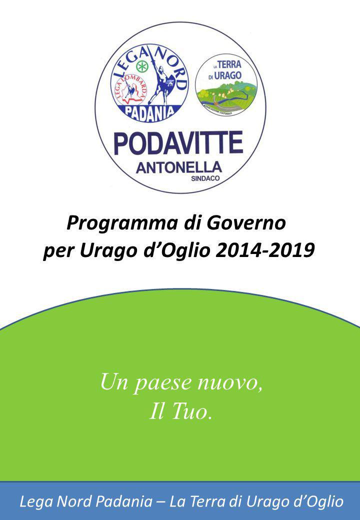 Lega Nord Padania – La Terra di Urago d'Oglio