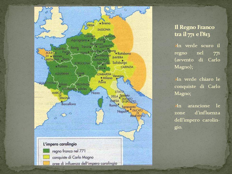 Il Regno Franco tra il 771 e l'813