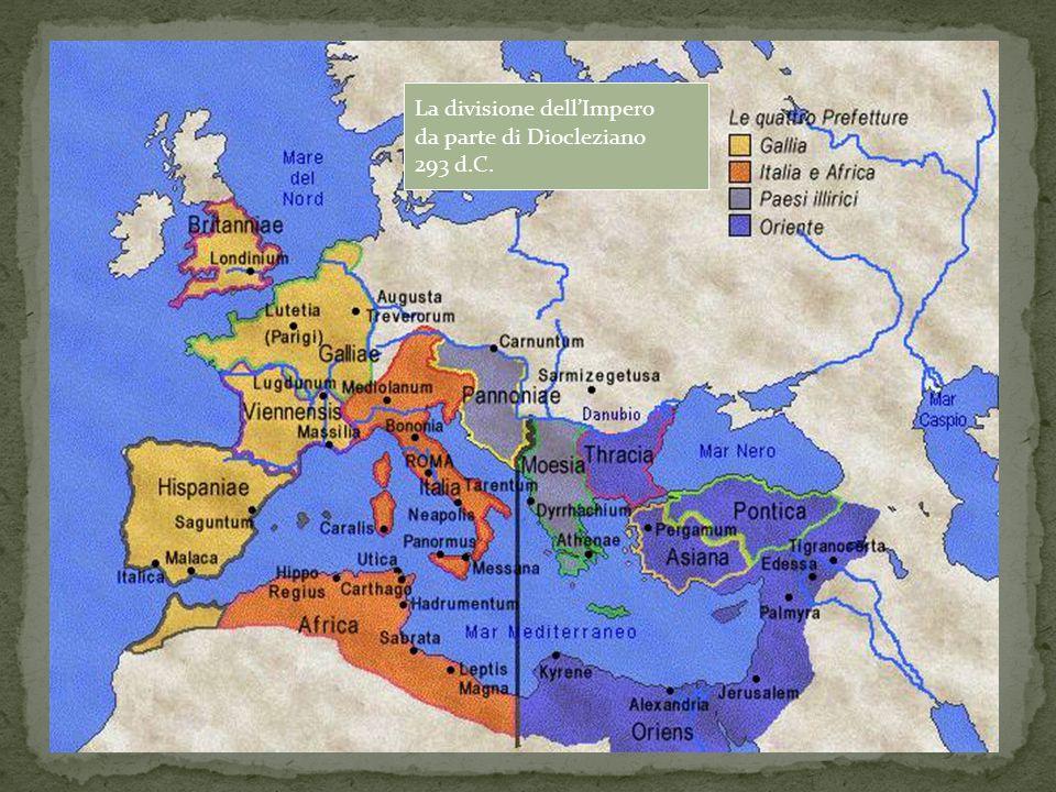 La divisione dell'Impero