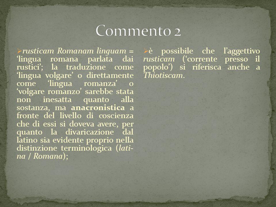 Commento 2