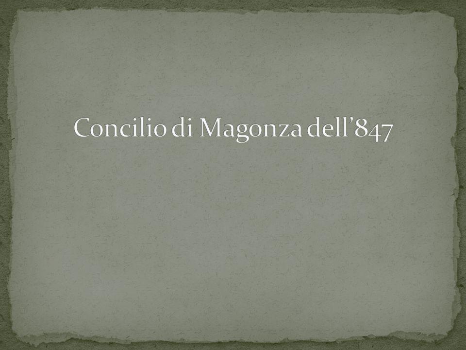 Concilio di Magonza dell'847