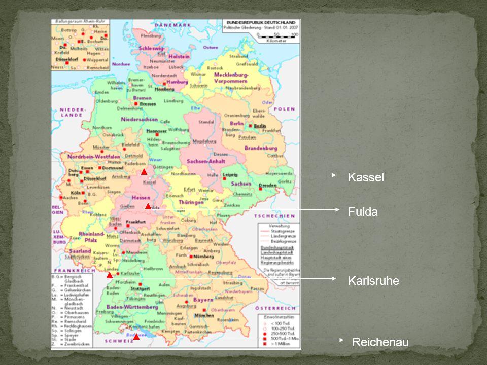 Kassel Fulda Karlsruhe Reichenau