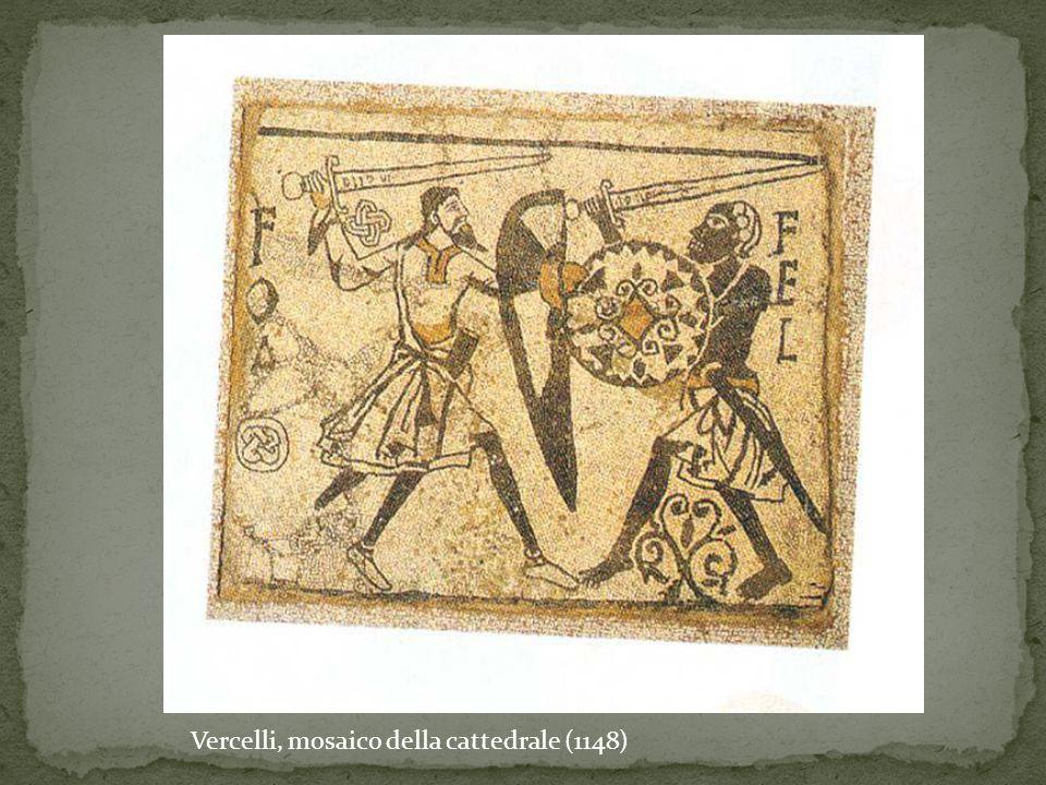 Vercelli, mosaico della cattedrale (1148)