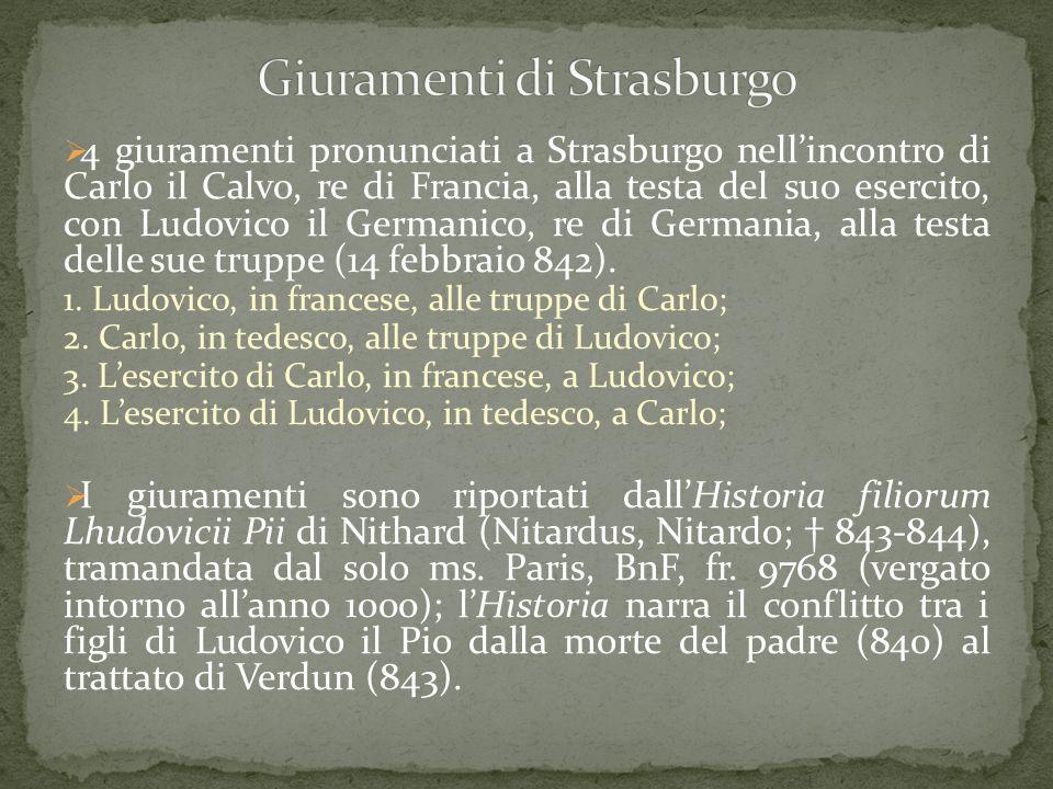 Giuramenti di Strasburgo