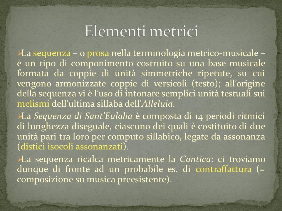Elementi metrici