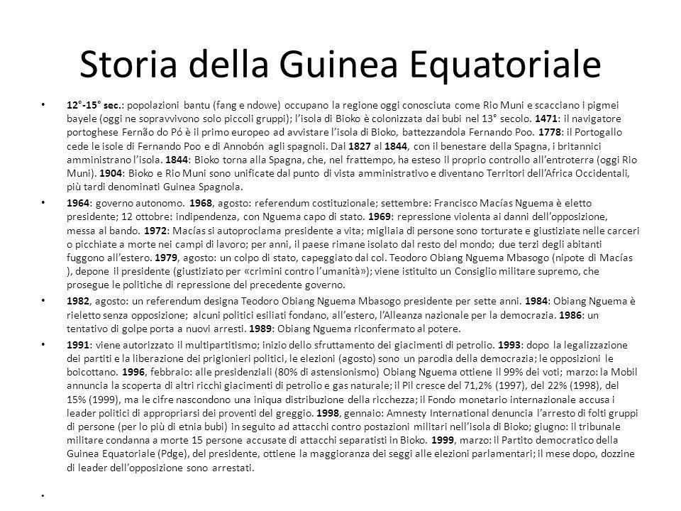 Storia della Guinea Equatoriale