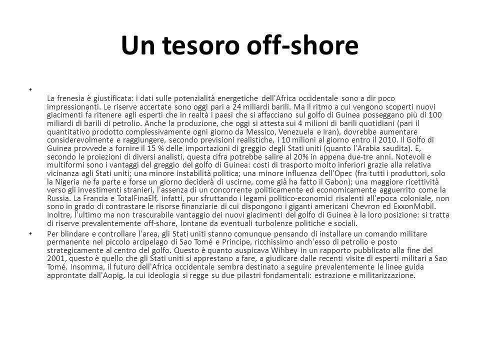 Un tesoro off-shore