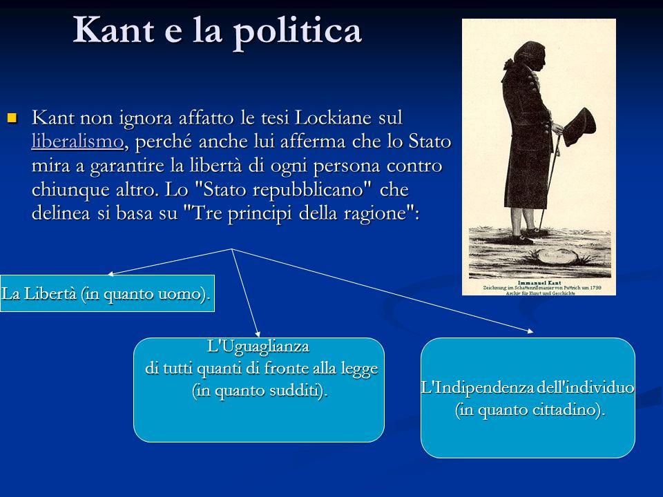 Kant e la politica