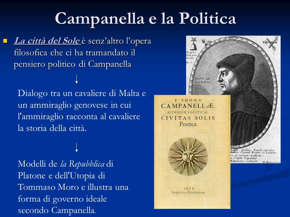 Campanella e la Politica