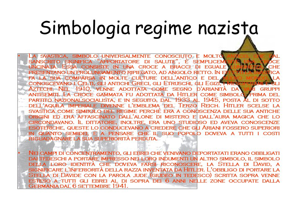 Simbologia regime nazista