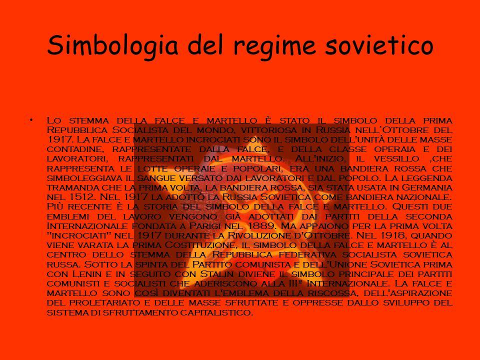 Simbologia del regime sovietico