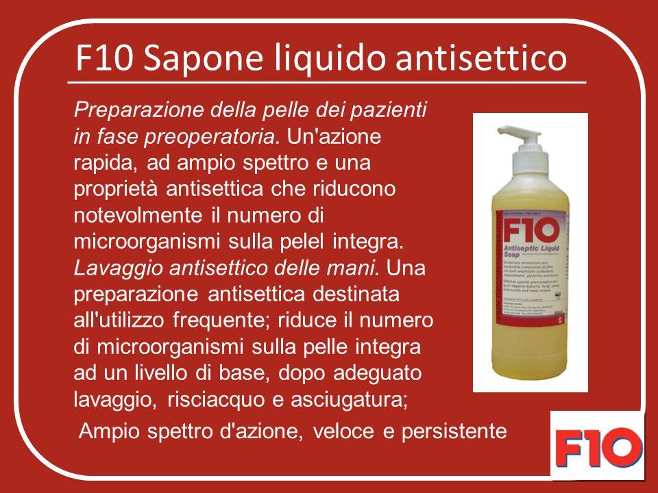 F10 Sapone liquido antisettico