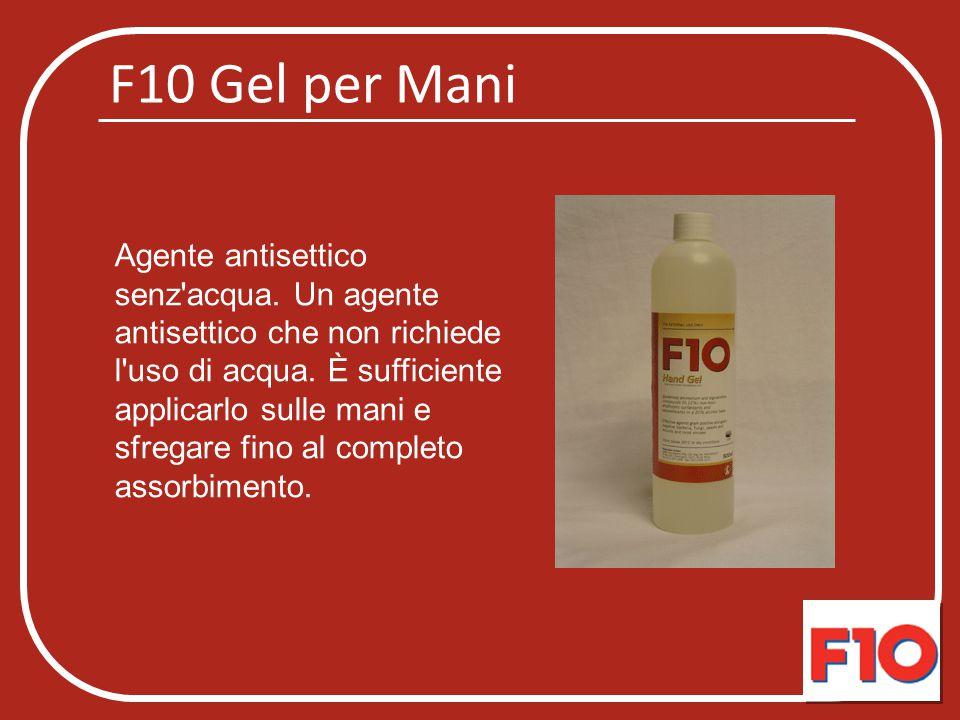 F10 Gel per Mani
