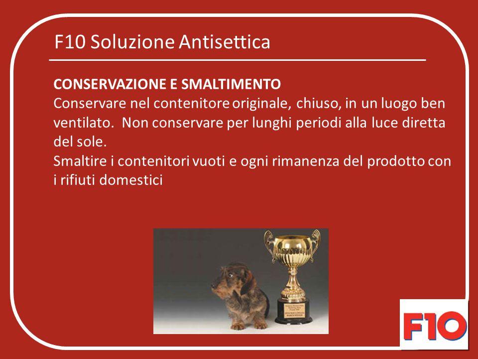 F10 Soluzione Antisettica