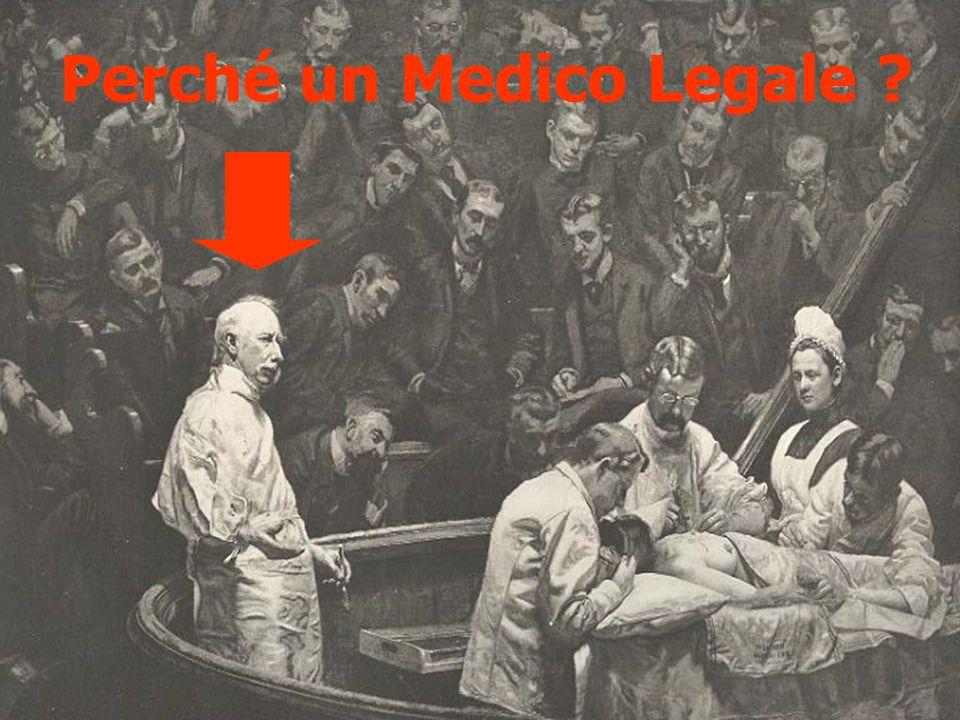 Perché un Medico Legale