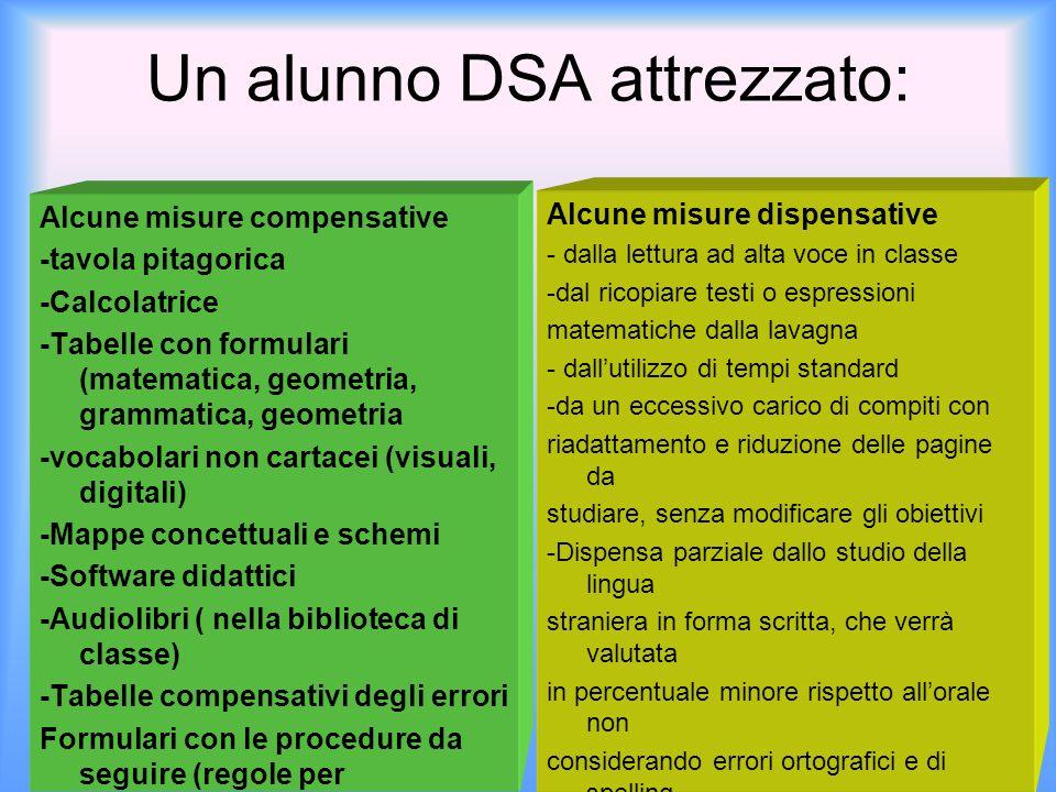Un alunno DSA attrezzato: