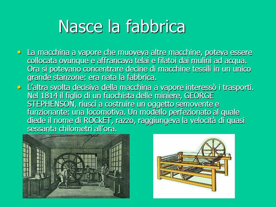 Nasce la fabbrica