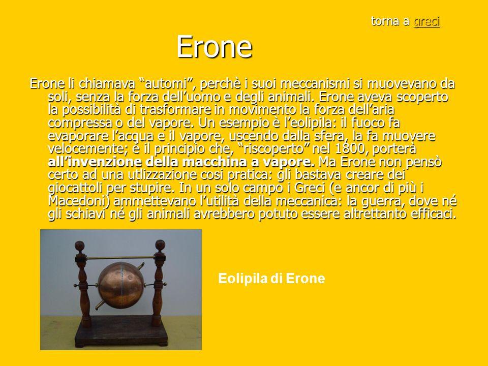 torna a greci Erone