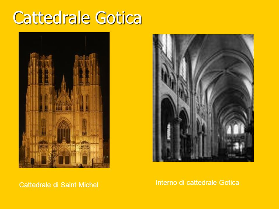 Cattedrale Gotica Interno di cattedrale Gotica
