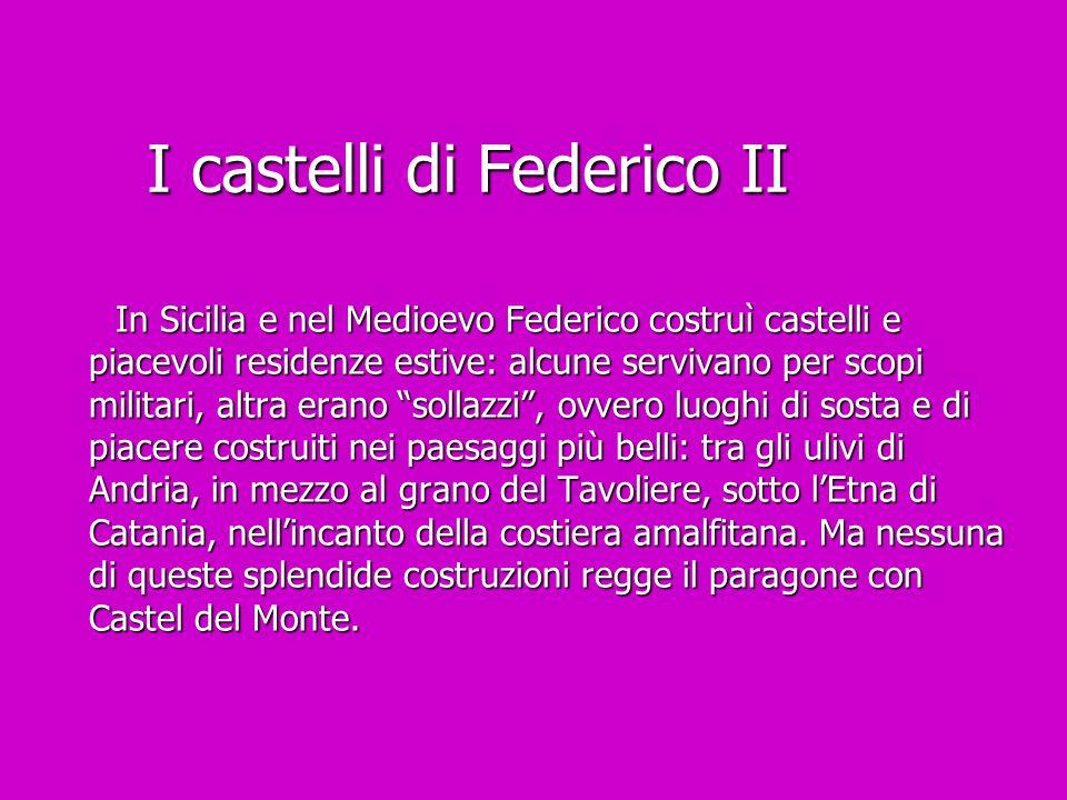 I castelli di Federico II