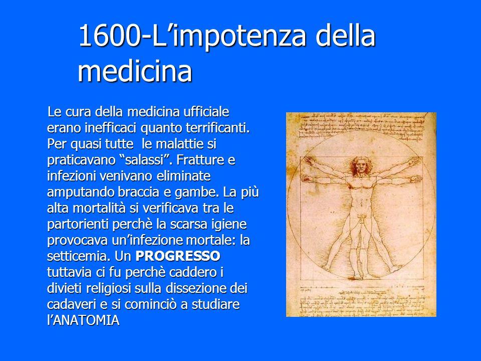 1600-L'impotenza della medicina