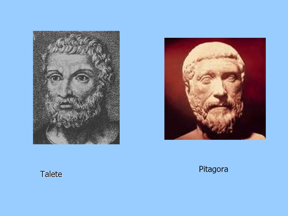 Talete Pitagora