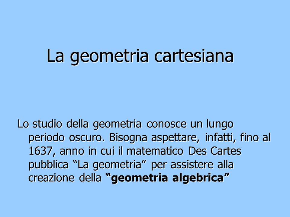 La geometria cartesiana