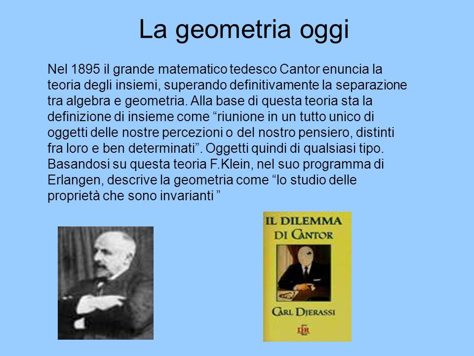 La geometria oggi